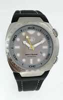 Body Glove Big Divers Scuba Grey Watch NEW L Original BG306003 100M WR