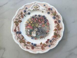 "Royal Doulton China - Brambly Hedge - AUTUMN - 8""  Plate"