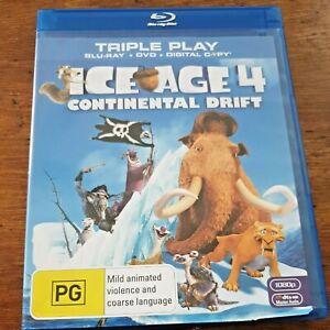 Ice Age Continental Drift Blu-ray + Digital Copy Like New! – FREE POST
