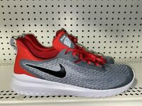 Nike Renew Rival Mens Athletic Running Training Shoes Size 10.5 Gray Red Black