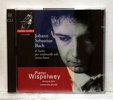 PIETER WISPELWEY - JS BACH 6 suites for cello solo senza basso CHANNEL 2xCDs NM