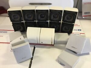 Bose Acoustimass Speakers [[6 each]]Double Cube White read description