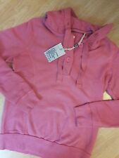 Fat Face LADIES TOP BRAND NEW SIZE 10  SWEAT SHIRT PINK HOODIE was £40