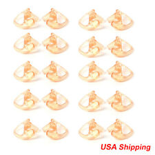 10 M Pairs Silicone Earmold Earbud  for all transparent Tube Earpiece headphone