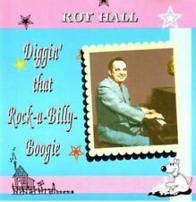 ROY HALL Diggin' That Rockabilly Boogie CD -NEW- early Rockabilly Hillbilly Bop
