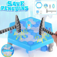 Penguin Trap Table Ice Cubes Rescue Knock Interactive Ice Breaking Kids Game ~