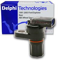 Delphi Rear ABS Wheel Speed Sensor for 1991-2003 Ford Explorer - Anti Lock wf