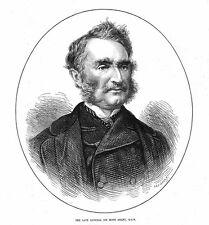 General Sir James Hope Grant GCB - Antique Print 1875