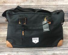 NEW WeSC Saxton Duffel Unisex Weekend Travel Bag Black