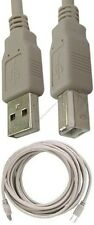 Lot100 15ft long USB2.0 A~B AB Printer Cable/Cord/Wire for PC/MAC/Canon/Epson{L