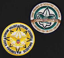x2 Friends of Scouting 1999-2000