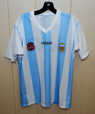 Vintage Coca Cola Adi Das Football Soccer Shirt  Size  Large