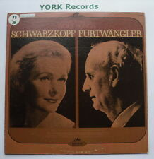 ELISABETH SCHWARZKOPF - Wolf Songs - Excellent Con LP Record Seraphim 60179