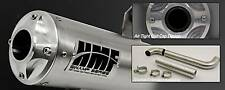 HMF Titan Series Exhaust Pipe Yamaha Grizzly 700 All Years Quiet Model