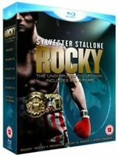 Rocky The Complete Saga 5039036042512 With Sylvester Stallone Blu-ray
