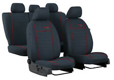 SEAT LEON Mk3 2013 ONWARDS STRONG FABRIC SEAT COVERS MADE TO MEASURE FOR CAR