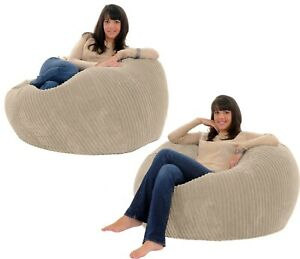 Bean Bag Large Adult Chair Couch Corduroy Sofa Cover Indoor Lazy Seat