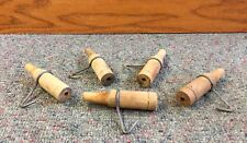 WOODEN Sap Spouts TAPS SPILES w/ HOOKS Maple Syrup L@@K!