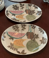 Red Wing Pottery Tampico Pattern Serving Platter, 2 Available Priced Separate