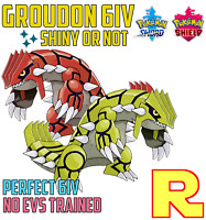 6IV GROUDON ⚔️ SHINY or NOT 🛡 SWORD & SHIELD ⚔️🛡 Legit & Perfect