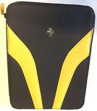 Ferrari Factory Envelope/Tablet Carrier Black/Yel 70004632 Algar Ferrari On Sale