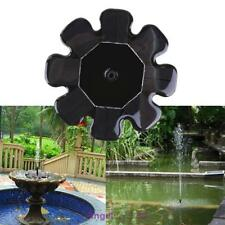 Solar Panel Water Feature Floating Pump Fountains Pool Pond Garden Bird Bath