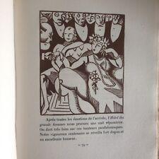 HERMANN PAUL - LOUIS BERTRAND/FLAUBERT A PARIS ou le mort vivant/ DELPEUCH 1927