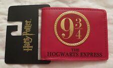 HARRY POTTER HOGWARTS EXPRESS BI-FOLD WALLET NEW 9 3/4
