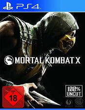 Mortal Kombat X (Sony PlayStation 4, 2016) Neuf neuf dans sa boîte
