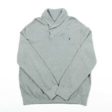 Vintage POLO by RALPH LAUREN Funnel Neck Sweater | Mens XL | Jumper Sweatshirt