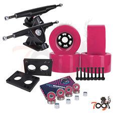 Cal 7 Longboard Flywheel 180mm Truck Bearing 97mm Pink Skateboard Wheels