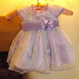Jona Michelle. babies purple party or special occasion dress, age 6 months, NWOT