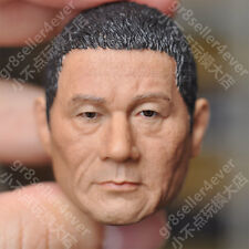 1/6 scale Head Sculpt Kitano Takeshi Beat Takeshi きたの たけし black hair fit 12""