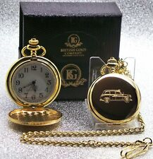 BLACK CAB Pocket Watch Gift For Drivers Taxi Collectors LONDON HACKNEY CARRIAGE