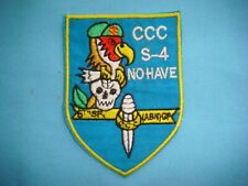 VIETNAM WAR PATCH, US 5TH SF CCC S-4 NO HAVE