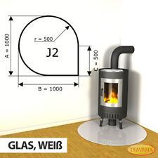 Kamin Glasbodenplatte Funkenschutz Kaminplatte Glas Ofen Platte Bodenplatte - J2