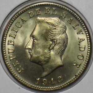 El Salvador 1948 5 Centavos 297321 combine shipping