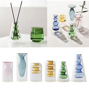 Chic Bonsai Plant Flower Vase Novelty Planter Pot Office Desktop Art Craft