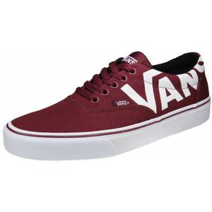 Mens Sneakers VANS Doheny Big Logo (Port Royale / White) VN0A3MTFVF51