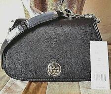 Tory Burch Landon Mini Bag Crossbody Purse Black Leather Style 36831
