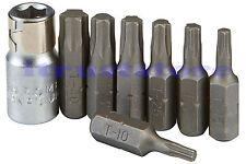 MICRO MINI BIT STAR HEX TORX BITS TOOL SET T10 T15 T20 T25 T27 T30 T40 TORK TIP
