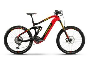 Haibike XDURO Nduro 10.0 i630Wh 2019/20/21 Flyon red carbon frame size 42cm