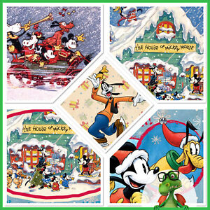 Disney Collect Topps Digital Vintage Christmas - Winter Wishes w/award