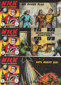 Nick Piccolo 3. Serie, 3er Set mit den Heften Nr. 65-67