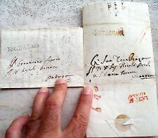 1820 Prephilatelics From Cologna Venetian In Venice And Padova. Cancellation