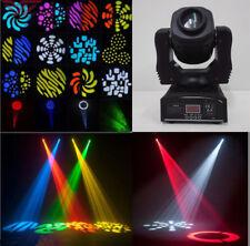 Wonsung 80W LED gobo Moving Head Lighting spot lighting dj set gobo christmas