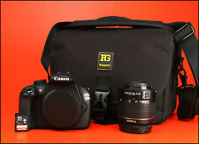 Canon EOS 1200D DSLR Camera, + 18-55mm Zoom Lens kit With 7,407 Shots, 16GB SD