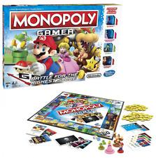 Monopoly Gamer Nintendo Characters Super Mario Princess Peach Yoshi Game Board
