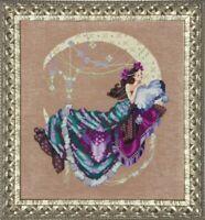 Moon Flowers - Mirabilia Designs/Nora Corbett chose chart/embellishments