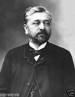 1888 Photo of Gustave Eiffel- French Civil Engineer - Builder of Eiffel Tower